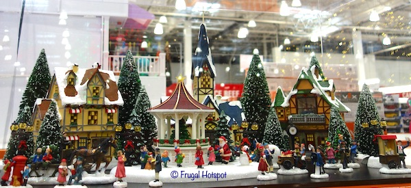 Christmas Village with Lights and Music Costco