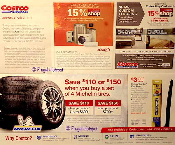Costco - Coupon Book OCTOBER 2019 P1