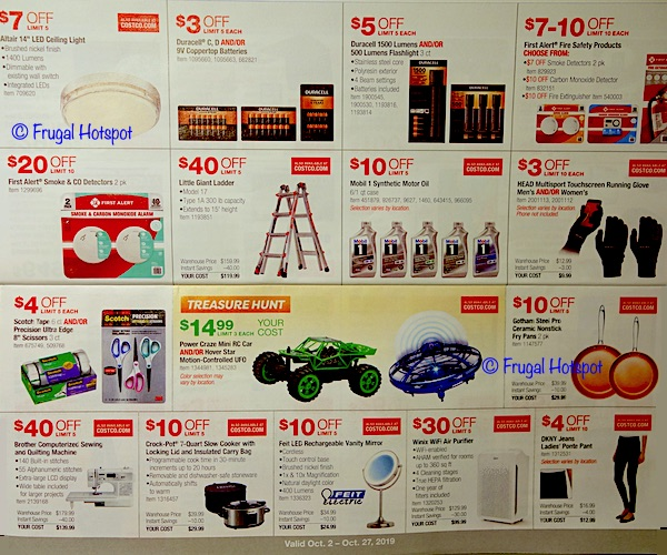Costco - Coupon Book OCTOBER 2019 P5