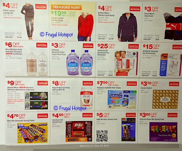 Costco - Coupon Book OCTOBER 2019 P6