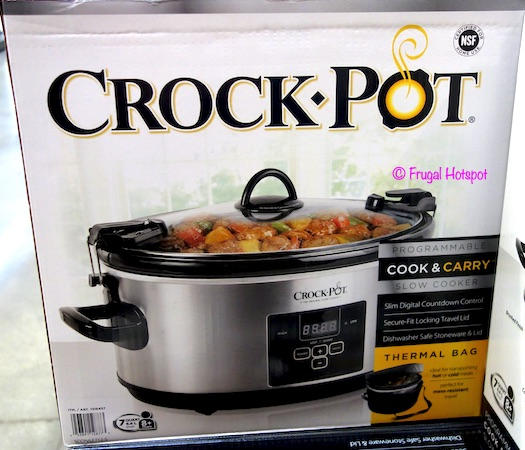Crock-Pot Cook & Carry 7-Quart Slow Cooker Costco