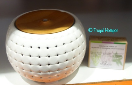 HoMedics Ellia Gather Aroma Diffuser with Essential Oils and Soundspa Costco Display