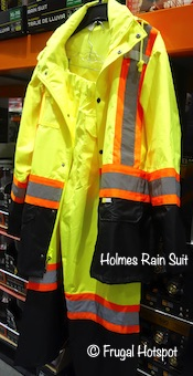 Holmes High Visibility Rain Suit Costco