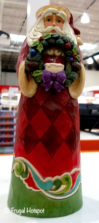Jim Shore Hand Painted Santa Statue Costco