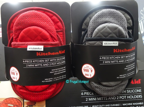 KitchenAid Mini Mitt and Pot Holder Set Costco