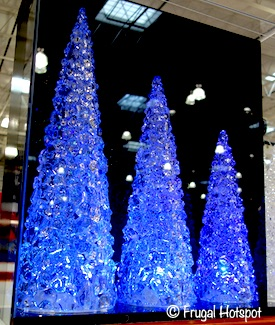 LED Holiday Trees Set Costco