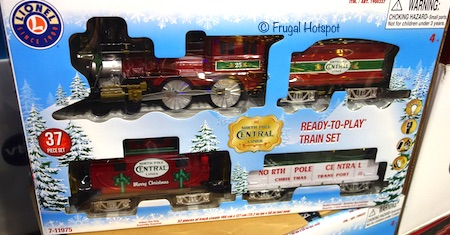 Lionel North Pole Central Train Set Costco
