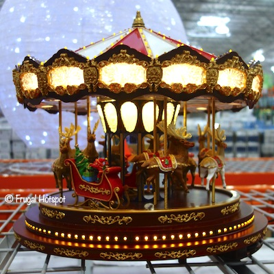 Mr. Christmas Animated Christmas Deluxe Carousel Costco