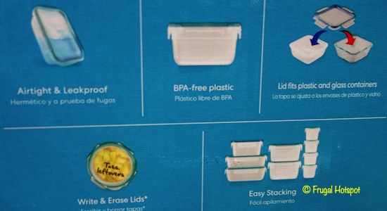 Snapware 38-Piece Plastic Food Storage Set Costco