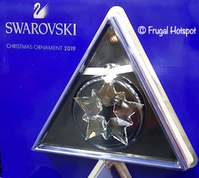 Swarovski 2019 Annual Crystal Ornament Costco