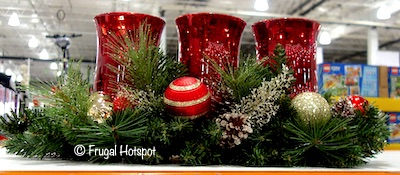 Triple Hurricane Holiday Centerpiece Costco