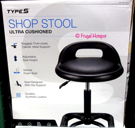 Type S Ultra Cushioned Shop Stool Costco