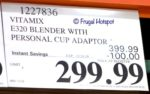 Vitamix Explorian Series E320 Blender Costco Sale Price