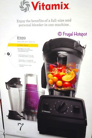 Vitamix Explorian Series E320 Blender with Personal Cup Adaptor Costco