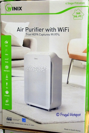 Winix Air Purifier C545 Wi-Fi Enabled Costco