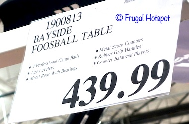 Bayside Furnishings Foosball Table by Whalen Costco Price