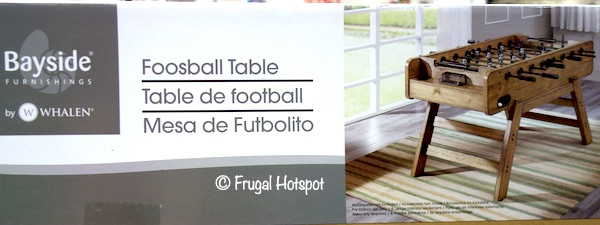 Bayside Furnishings Foosball Table by Whalen Costco