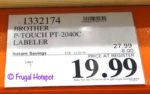 Brother P-Touch PT-2040C Labeler Costco Sale Price