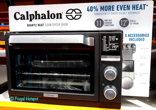 Calphalon Quartz Heat Countertop Oven Costco Display