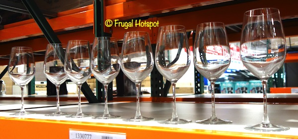 Chef & Sommelier Crystal Wine Stem 8-Piece Costco Display