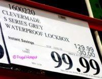 CleverMade Parcel LockBox S100 Series Costco Sale Price