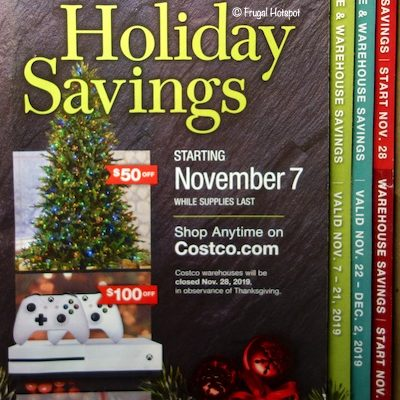 Costco 2019 Holiday Savings Book Cover