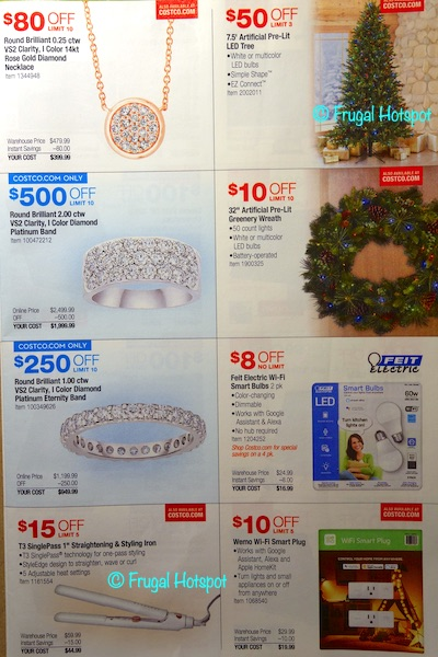 Costco 2019 Holiday Savings Book Page 6