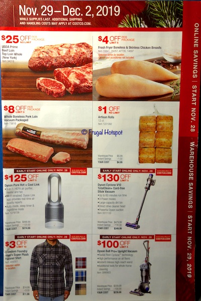 Costco Black Friday Weekend Sale 2019 Page 1