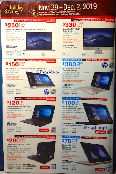 Costco Black Friday Weekend Sale 2019 Page 2