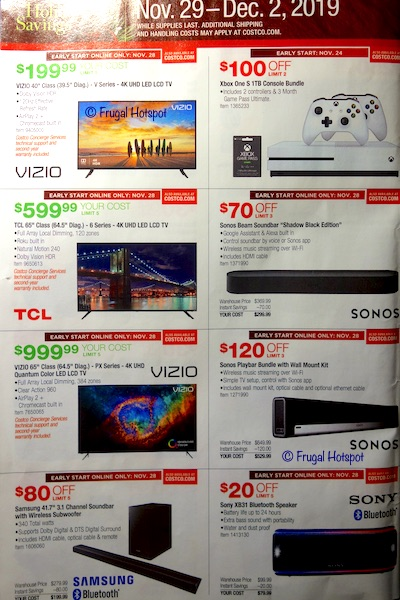 Costco Black Friday Weekend Sale 2019 Page 4