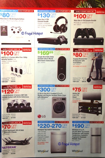 Costco Black Friday Weekend Sale 2019 Page 5