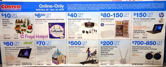 Costco Coupon Book DECEMBER 2019 Page 20