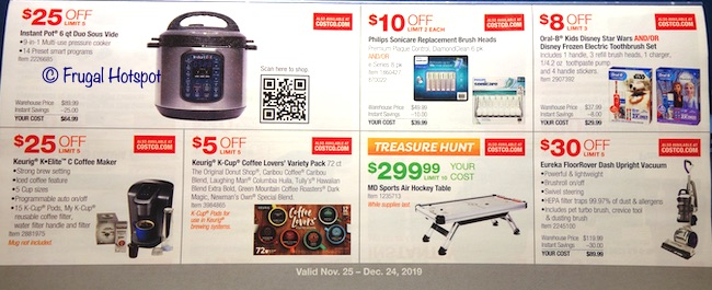 Costco Coupon Book DECEMBER 2019 Page 9