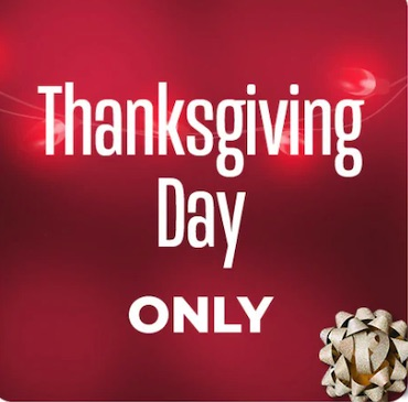 Costco.com Thanksgiving Day Only Sale 2019