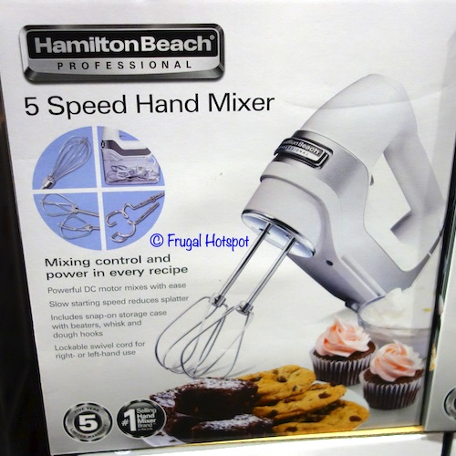 Hamilton Beach 5-Speed Hand Mixer Costco