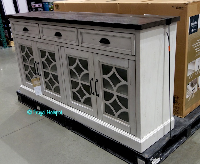 Bayside Furnishings Lawler 72 Accent Console Costco Display