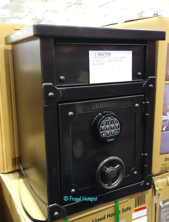 Bighorn End Table Safe Costco Display