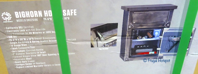 Bighorn End Table Safe Costco