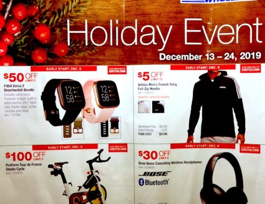 Costco Holiday Event December 2019 Page 1