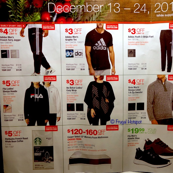Costco Holiday Event December 2019 Page 2