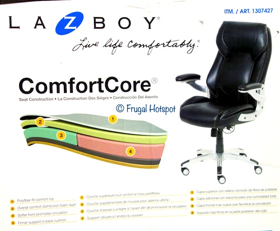 La-Z-Boy Manager Chair ComfortCore Costco