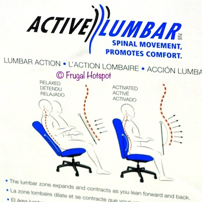 La-Z-Boy Manager Chair Lumbar Costco