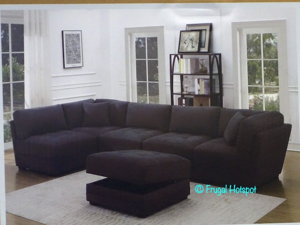 Norris Fabric Modular Sectional 6-Piece Costco