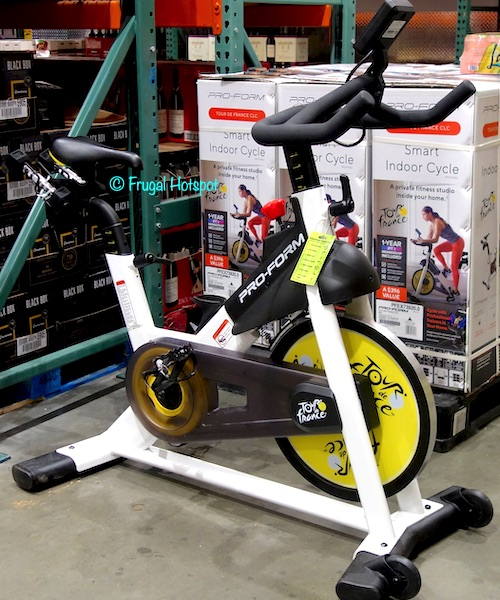 ProForm Tour De France CLC Smart Indoor Cycle Costco Display