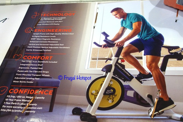 ProForm Tour De France CLC Smart Indoor Cycle Costco