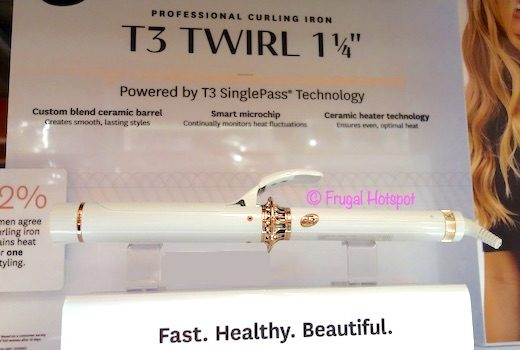 T3 Twirl 1.25 Curling Iron Costco Display
