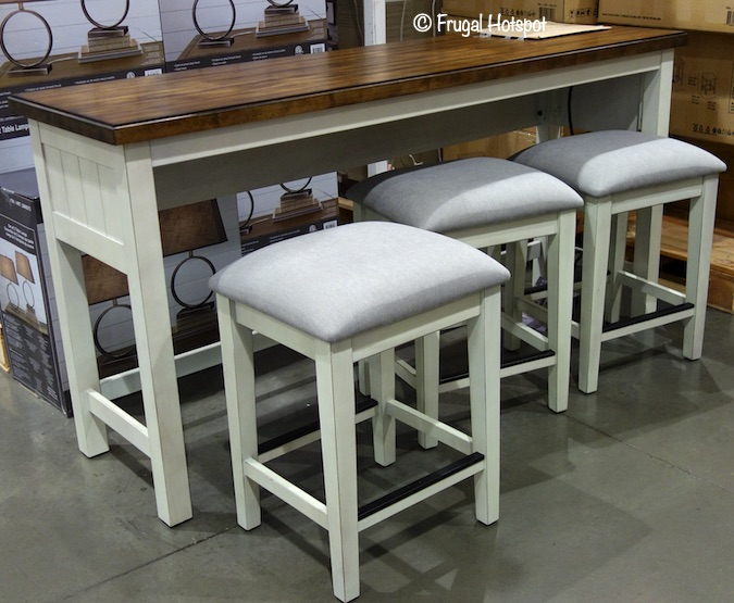 Bayside Furnishings Sofa Table Set Costco Display