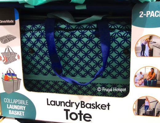 CleverMade Collapsible Laundry Basket Costco