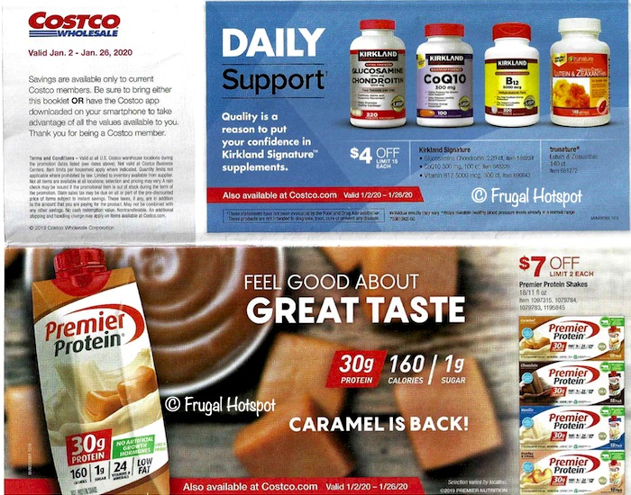Costco JANUARY 2020 Coupon Book 1