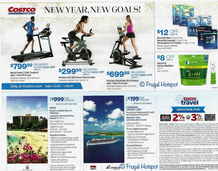 Costco JANUARY 2020 Coupon Book 2